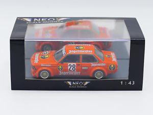 【送料無料】模型車 スポーツカー neo jagermeister bmw 320i etcc1979neo jagermeister bmw 320i etcc 1979