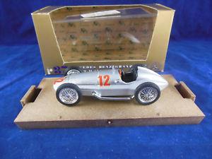【送料無料】模型車 スポーツカー メルセデスベンツグランドシルバーpwスケールbrumm r37 1939 mercedes benz grand prix w154 in silver hp 480 rn 12 143 scale