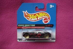 【送料無料】模型車 スポーツカー ホットホイール#ミントhot wheels avus quattro 18814  mint and carded c1997