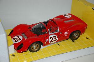 【送料無料】模型車 スポーツカー フェラーリ#デイトナミントferrari 330 p4 23 daytona 1967 jouef 118 limited edition mint boxed rare