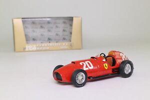 【送料無料】模型車 スポーツカー フェラーリグランプリアルベルトアスカリbrumm r125; ferrari 375 f1; 1951 swiis gp 6th; alberto ascari, excellent boxed