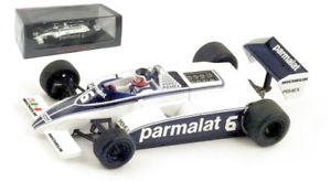 【送料無料】模型車 スポーツカー スパークs4348ブラバムbt49c6モナコgp1981ヘクターrebaque 143spark s4348 brabham bt49c 6 monaco gp 1981 hector rebaque 143 scale