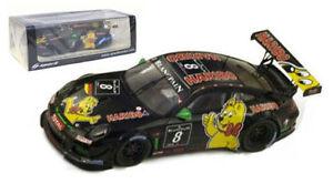 【送料無料】模型車 スポーツカー スパークポルシェグアテマラ#スパスケールspark sb031 porsche 997 gt3 r 8 haribo 24hr spa 2012  143 scale