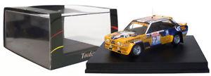【送料無料】模型車 スポーツカー フィアットアバルトサンレモラリースケールtrofeu 1416 fiat 131 abarth san remo rally 1980 markku alen 143 scale