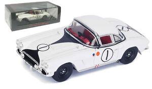【送料無料】模型車 スポーツカー スパークシボレーコルベット#ルマンターナースケールspark s4709 chevrolet corvette c1 1 le mans 1962 settemberturner 143 scale