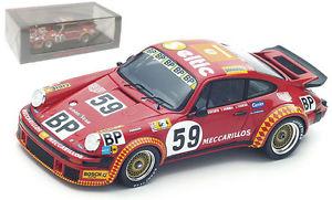 【送料無料】模型車 スポーツカー スパークポルシェ#チラーレーシングルマンspark s4750 porsche 934 59 meccarillos schiller racing le mans 1977 143