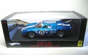 【送料無料】模型車 スポーツカー フェラーリ250lm 2912hセブリング1965ferrari 250 lm 29 12h sebring 1965