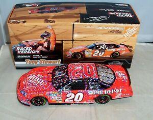 【送料無料】模型車 スポーツカー アクション#ホームデポシカゴレーストニースチュワート124 action 2007 20 home depot chicago raced win tony stewart rare 11248