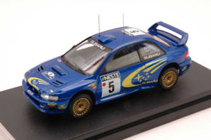 【送料無料】模型車 スポーツカー スバルimpreza52フィンランド1999リード143モデルhpi8580subaru impreza 5 2nd finland 1999 burnsreid 143 model 8580 hpi racing