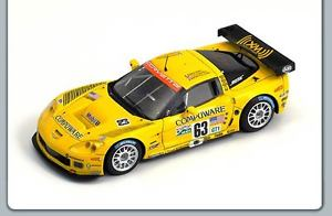 【送料無料】模型車 スポーツカー コルベットコルベットレーシングルマン#143 corvette c6r corvette racing le mans 24 hrs 2006 63