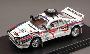 【送料無料】模型車 スポーツカー ランチアラリー#モデルレーシングlancia 037 rally 7 4th safari 1984 alenkivimaki 143 model 8230 hpi racing