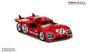 【送料無料】模型車 スポーツカー アルファロメオティポ333 12hセブリング1971シュトメレン143 tsm144311モデルalfa romeo tipo 333 12h sebring 1971 stommelen true scale 143 tsm144311 mo