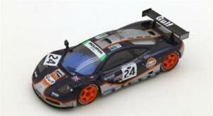 【送料無料】模型車 スポーツカー マクラーレン#ルマンスケールモデルmclaren f1 gtr 24 4th place 24h le mans 1995 true scale 143 tsm124336 model