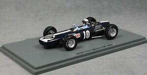 【送料無料】模型車 スポーツカー メキシコグランプリイネスアイルランドspark brm p261 mexican grand prix 1966 innes ireland s5275 143 resin