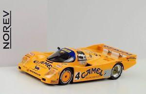 【送料無料】模型車 スポーツカー 1988ポルシェ962c4 24hlehunkelerレチナーロイター118 norev1988 porsche 962 c4 24 h le mans hunkeler lechner reuter 118 norev