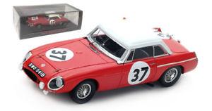 【送料無料】模型車 スポーツカー スパーク#ルマンヘッジスケールspark s5078 mg b hardtop 37 19th le mans 1964 hopkirkhedges 143 scale