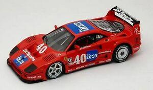 【送料無料】模型車 スポーツカー フェラーリグアテマラ#モデルferrari f 40 gt 1 40 imsa 1990 143 model redline
