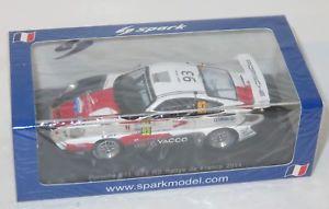 【送料無料】模型車 スポーツカー ポルシェグアテマララリードフランスアルザスデュマ143 porsche 911 997 gt3 rs rallye de france alsace 2014  rdumas