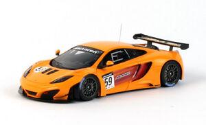 【送料無料】模型車 スポーツカー マクラーレングアテマラ#オレンジスケールダイカストモデルmclaren mp412c gt3 59 orange 2011 true scale 143 tsm114358 diecast model