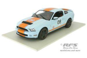 【送料無料】模型車 スポーツカー フォードシェルビーデザイン#ford shelby gt500 2012gulf design 08 118 greenlight gl 12990
