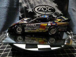 【送料無料】模型車 スポーツカー ロドニーコームモデルrodney combs 5 2007 adc dirt late model 124 rare