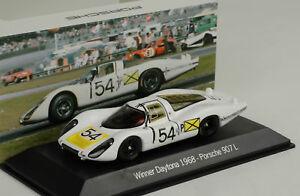 【送料無料】模型車 スポーツカー ポルシェチームポルシェ#デイトナスパークマップporsche 907lh team porsche 54 winner daytona 1968 elford spark 143 map02026814
