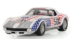 【送料無料】模型車 スポーツカー シボレーコルベット50 10thデイトナ1971 143tsm104324モデルchevrolet corvette 50 10th daytona 1971 143 true scale tsm104324 model