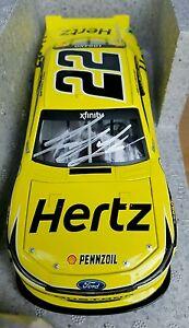 【送料無料】模型車 スポーツカー ジョイ#サインフォードムスタング2015 joey logano 22 autographed hertz xfinity ford mustang 124th nascar