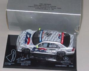 【送料無料】模型車 スポーツカー ダイメルセデスシュナイダーdie sieger mercedes 1995 itc 143 schneider very rare limited 95 only