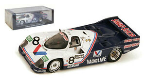【送料無料】模型車 スポーツカー スパーク43da85ポルシェ962c824デイトナ1985 143spark 43da85 porsche 962c 8 winner 24 hour daytona 1985 143 scale
