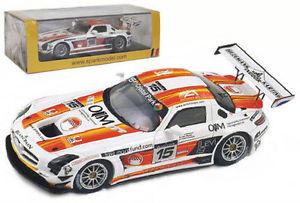 【送料無料】模型車 スポーツカー スパークメルセデスベンツ#スパスケールspark sb024 mercedesbenz sls amg 15 24hr spa 2011 143 scale