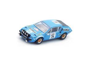 【送料無料】模型車 スポーツカー アルパインツールドコルスモデルカーalpine a310 tour de corse 1976 resin model car s5479