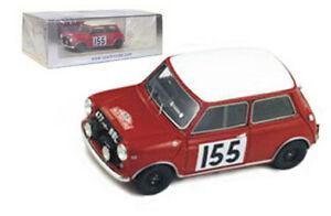 【送料無料】模型車 スポーツカー スパークモーリスミニクーパー#モンテカルロラリーモリソンspark s1190 morris mini cooper 155 monte carlo rally 1963 l morrison 143
