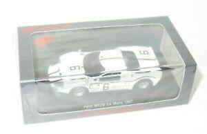 【送料無料】模型車 スポーツカー フォードフォードフランスルマン#シュレッサーリジェ listing143 ford gt40 mk2 b  ford france le mans 24 hrs 1967 6 schlesser ligier