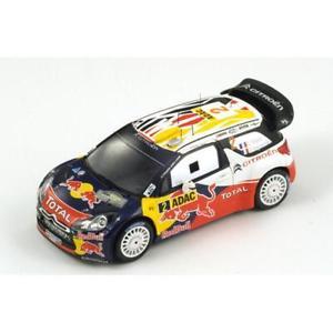 【送料無料】模型車 スポーツカー シトロエンレッドブルラリードイツ143 citroen ds3 wrc total red bull winner adac rally germany 2011 sogier