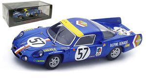 【送料無料】模型車 スポーツカー スパークアルパインルノー#クラスルマンスケールspark s4372 alpine renault a210 57 1600cc class winner le mans 1968 143 scale