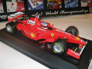 【送料無料】模型車 スポーツカー フェラーリシューマッハフルショーケース118 ferrari f300 m schumacher 1998 rebuilt conversion full tabacco in showcase top *