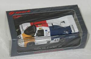 【送料無料】模型車 スポーツカー ポルシェヨーストルマン#143 porsche 936 c joest le mans 24hrs 1986 63 brunn schuster seher