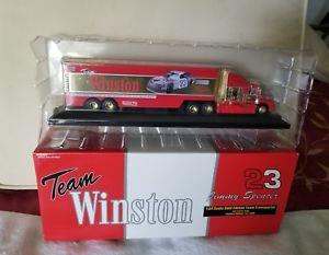 【送料無料】模型車 スポーツカー チームウィンストン23ジミースペンサー164ゴールドエディションチームnibteam winston 23 jimmy spencer 164 scale gold edition team transporter nib