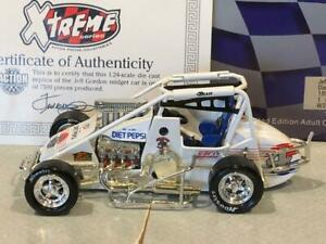 【送料無料】模型車 スポーツカー アクション1990ジェフゴードン4ペプシ124action 1990 jeff gordon 4 diet pepsi midget sprint 124