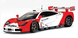 【送料無料】模型車 スポーツカー マクラーレン#マルボロモデルスケールミニアチュアmclaren f1 gtr 6 marlboro bpr zhuhai 1996 143 model true scale miniatures