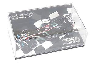 【送料無料】模型車 スポーツカー 143ヨーロッパminardiコスワースps03ブラジルgp2003jverstappen143 european minardi cosworth ps03  brazilian gp 2003  jverstappen