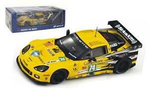 【送料無料】模型車 スポーツカー スパークs2542コルベットc6 zr174コルベットレーシング ルマン2011 143spark s2542 corvette c6 zr1 74 corvette racing le mans 2011 143 scale