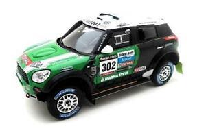【送料無料】模型車 スポーツカー ダカールミニall42013143 tsm144345 momini countryman all4 racing winner dakar rally 2013 true scale 143 tsm144345 mo
