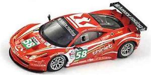【送料無料】模型車 スポーツカー ラグジャリールマン2011フェラーリ458イタリアgt258チーム143 tsm11fj019ferrari 458 italia gt2 58 team luxury le mans 2011 true scale 143 tsm11fj01