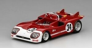 【送料無料】模型車 スポーツカー アルファロメオ#セブリングスケールalfa romeo tipo 333 34 autodelta 12h sebring 1971 true scale 143 tsm154311 mo