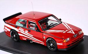 【送料無料】模型車 スポーツカー アルファロメオ75ターボevoluzione prova1988143 m4alfa romeo 75 turbo evoluzione prova 1988 red 143 m4