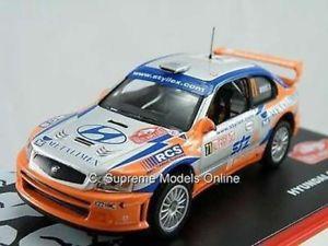 【送料無料】模型車 スポーツカー ヒュンダイアクセントラリーカーモデルドアkhyundai accent wrc 2004 rally car model beres stary 143 3 door issue k762