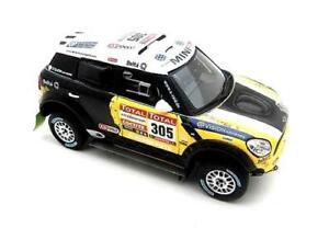 【送料無料】模型車 スポーツカー ミニレースダカールラリースケールmini countryman all4 racing 2nd place dakar rally 2012 true scale 143 tsm144343