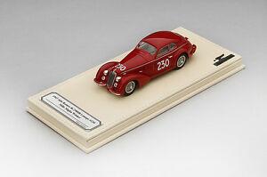 【送料無料】模型車 スポーツカー アルファロメオ#ミッレミリアtsmce154312 143 alfa romeo 8c2900b 230 1947 mille miglia winner cbiondetti
